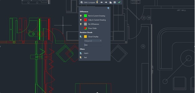 DWG Compare Autocad 2020