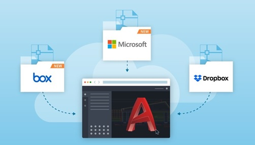 Microsoft and Autodesk Autocad 2020