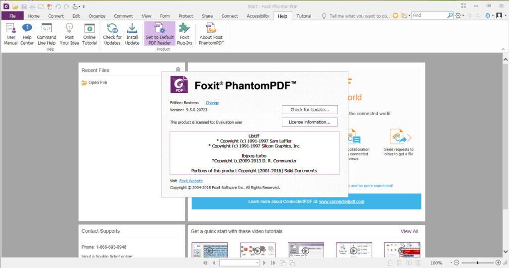 Foxit Phantom Lisence