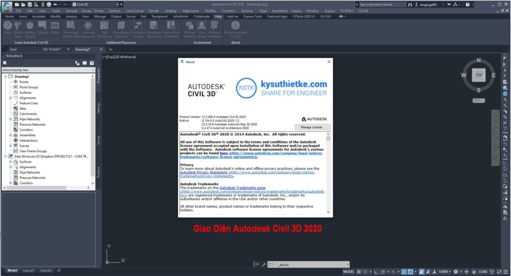 Download Autodesk Civil 3D 2020 Full Active Link Google Drive