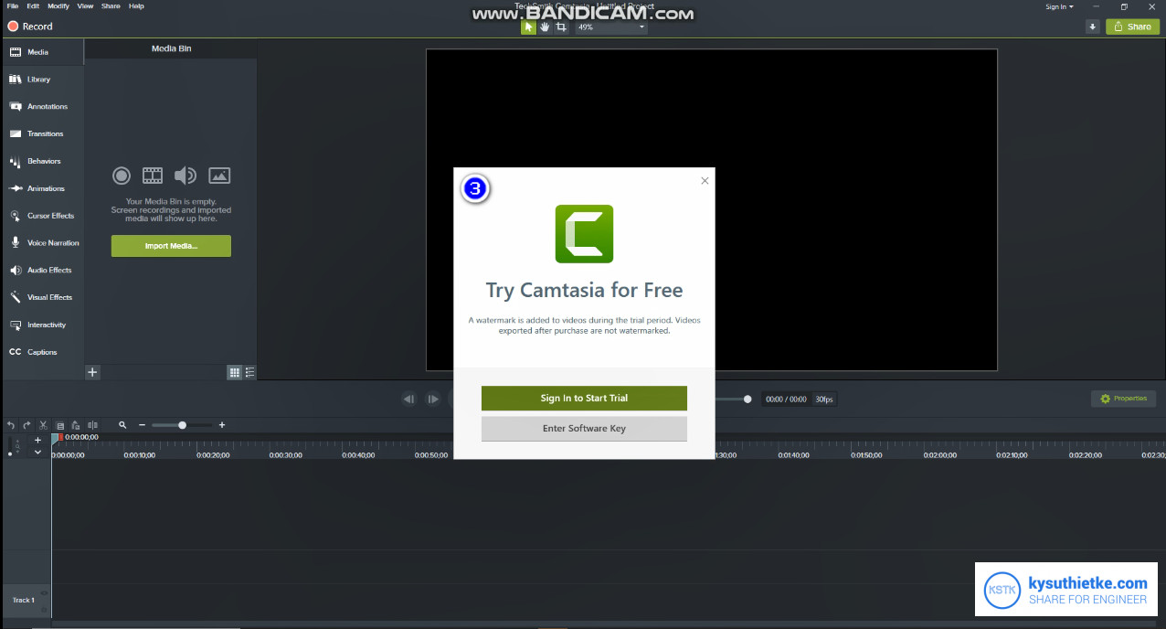 Download Camtasia Studio 2019 full crack - Huong dan cai dat 3