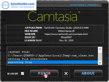 Download Camtasia Studio 2019 full crack - Huong dan cai dat 6