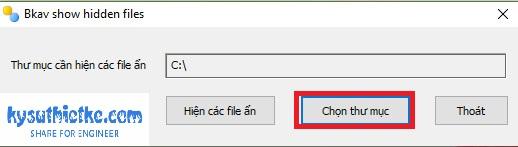 Download FixAttrb Bkav 3.0.0.1 - Phần mềm hiện file ẩn cho USB tốt nhất 2