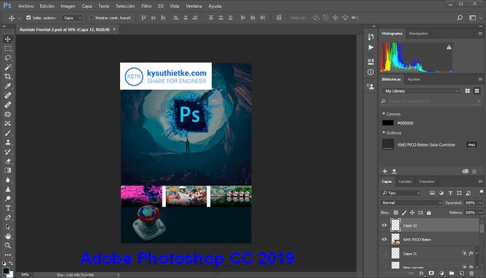 Adobe-Photoshop-CC-2019-giao-dien