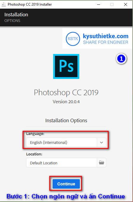 Photoshop cc 2019 full crack - huong dan cai dat 1