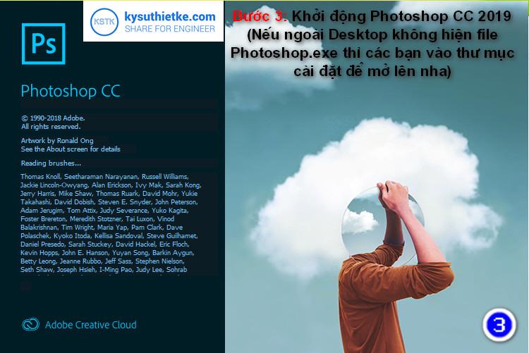 Photoshop cc 2019 full crack - huong dan cai dat 3