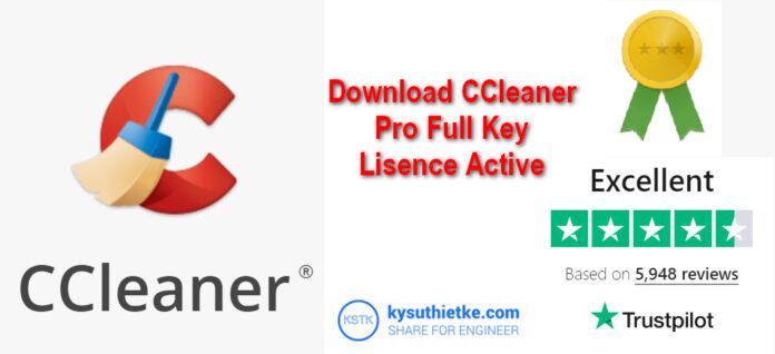 Download CCleaner Pro Full Key Active + Hướng dẫn cài đặt