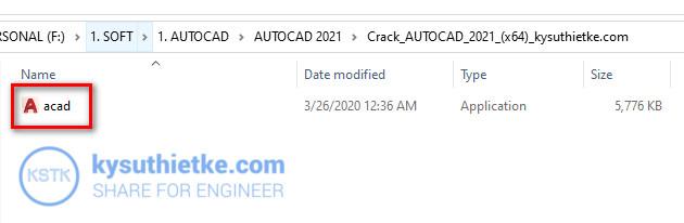 File Active Autocad 2021