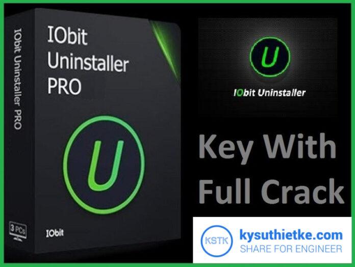 Download IObit uninstaller Pro Full key + crack