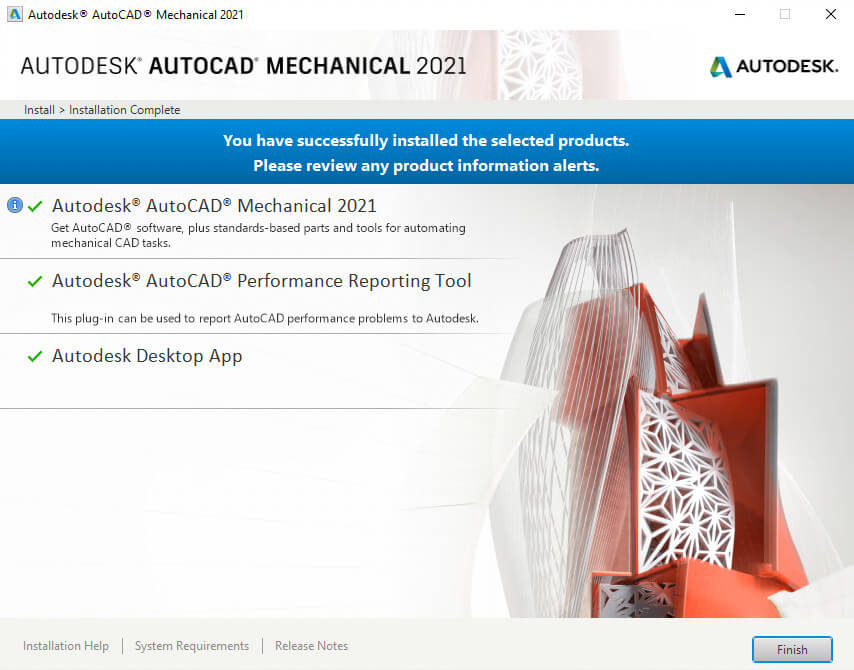 Download and Install AutoCAD Mechanical 2021 Full Active 5