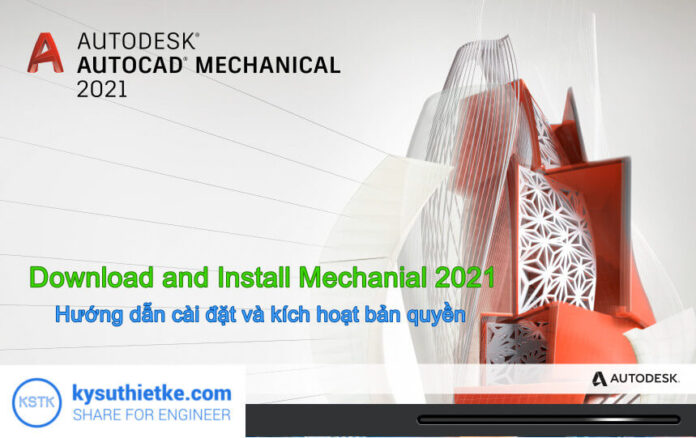 Download and Install AutoCAD Mechanical 2021 Full Active