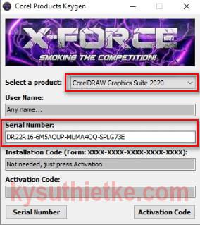 Keygen crack Coreldraw Graphics Suite 2020