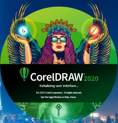 Logo Coreldraw Graphics Suite 2020
