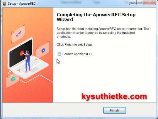 Hướng dẫn cài đặt ApowerREC Full key