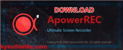 Download ApowerREC Full Key Active - Link Google Drive