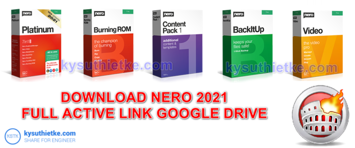 Download Nero Burning ROM 2021-Nero Platinum Suite-Content Pack-BackItUp-Video Link Google Drive