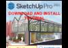 Download SketchUp Pro 2021 Full Active Link Google Drive và hướng dẫn cài đặt