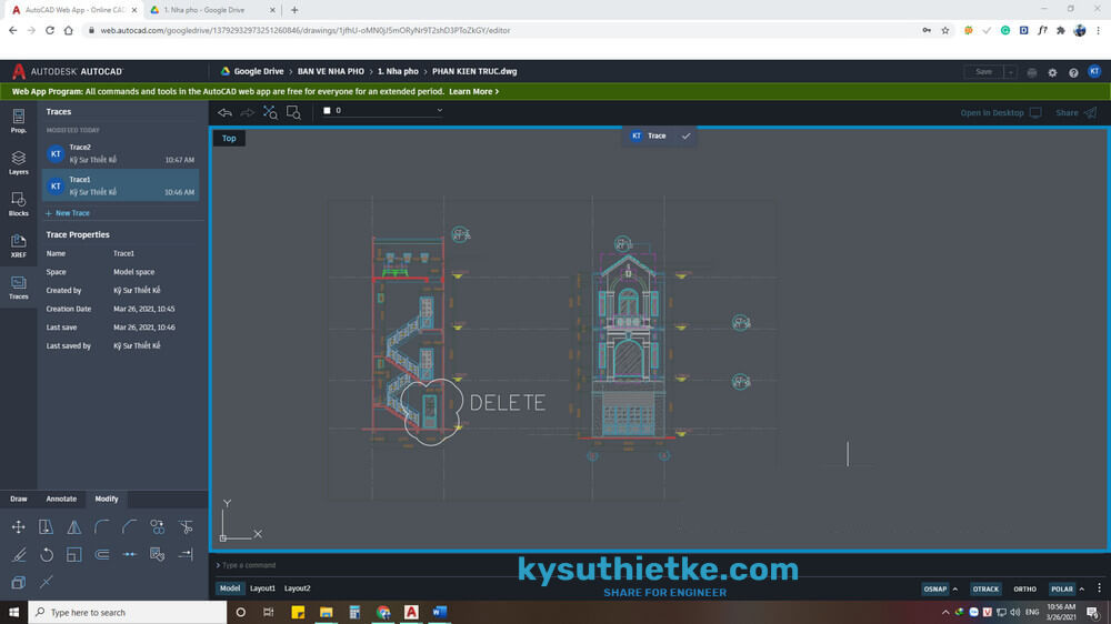 Download AutoCAD 2022 and what's news - Trade