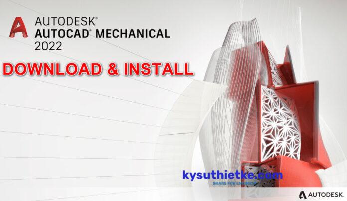 Download AutoCAD Mechanical 2022 Link Google Drive Free + Hướng dẫn cài đặt