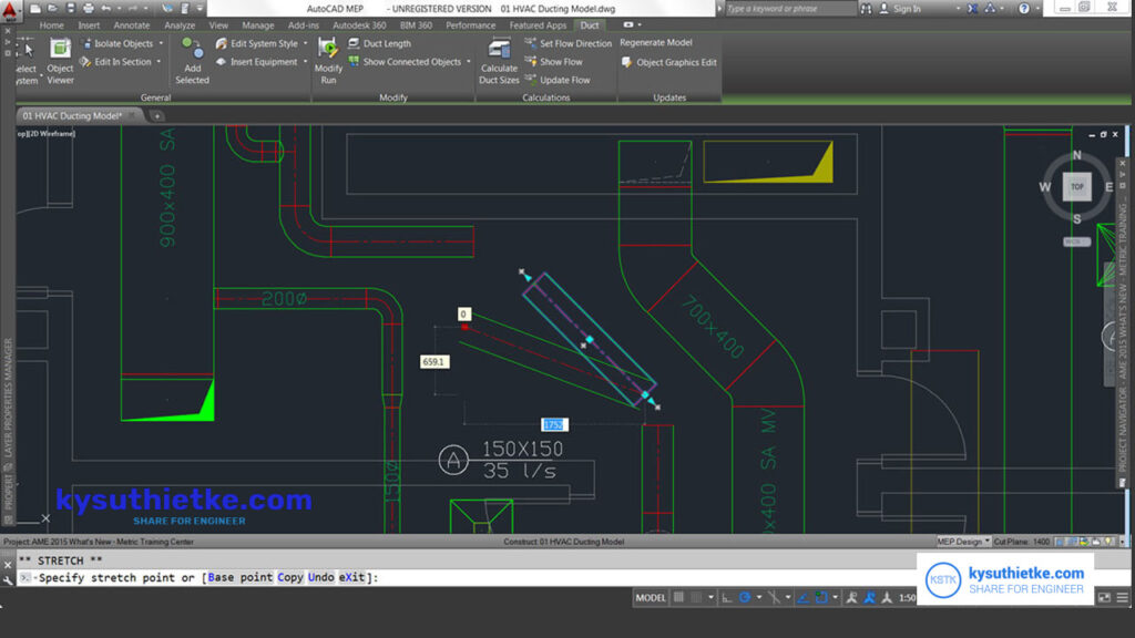 Giao diện phần mềm Download AutoCAD MEP 2022 Free Full Active Link Google Drive
