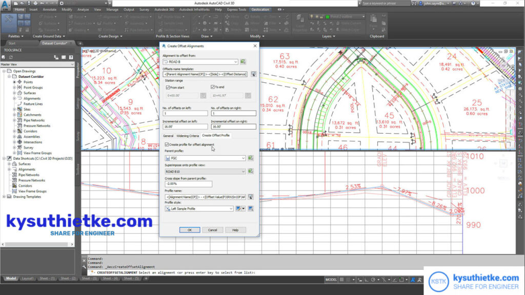 Giao diện Download Autodesk Civil 3D 2022 Full