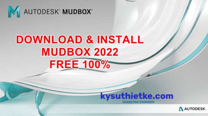 Download and Install Autodesk MudBox 2022 Link Google drive Free Full Active
