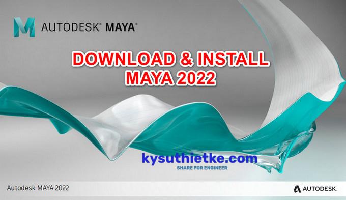 Download Autodesk Maya 2022 Free